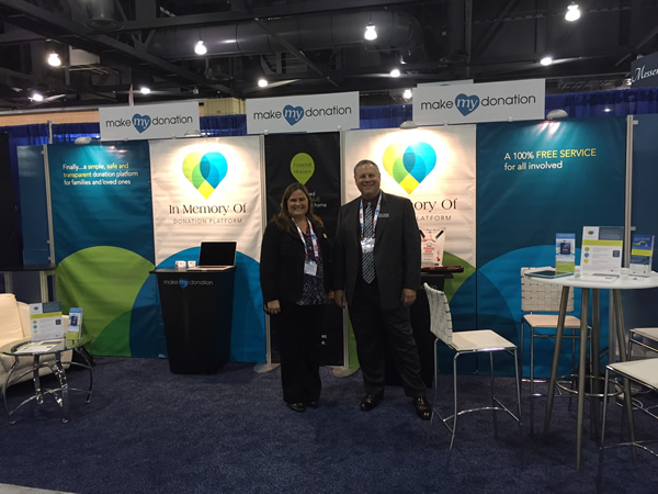 NFDA In Memory Of Platform Booth